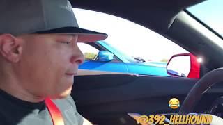 Download 2017 Camaro ZL1 Vs 2016 Charger SRT Hellcat Epic Street Race!!! Video