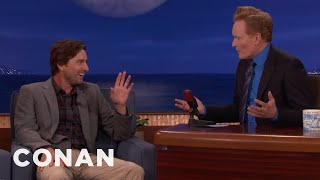 Download Conan Asks Luke Wilson To Be His Friend In Real Life - CONAN on TBS Video
