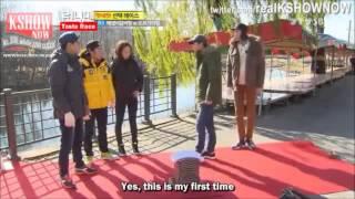Download Running Man Funny - Jihyo vs Men (Breaking Bricks) Video
