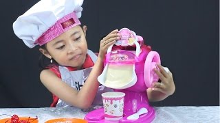 Download unboxing mainan anak ice cream maker - Make Your Own Ice Cream Video