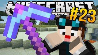 Download Minecraft Pocket Edition | ENCHANTED DIAMOND PICKAXE!! | #23 Video