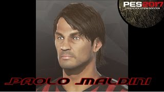 Download Paolo Maldini - RE UPLOADED - PES 2017 Face Build - PS4 Video