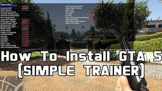 GTA 5 Menyoo Trainer Yükleme [Türkçe] Free Download Video MP4 3GP