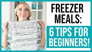 Download Freezer Meals for Beginners // How To Get Started Video