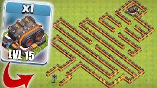 Download STILL UNDEFEATED!! | CLASH OF CLANS | LVL 15 CANNON MAZE BASE!! Video