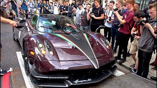 Download $6Million Pagani Huayra's CAUSE CHAOS in London! Video