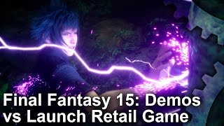 Download Final Fantasy 15: 2006-2016 Demos vs Final Game Graphics Comparisons Video