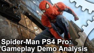 Download [4K] Spider-Man PS4 Pro E3 Gameplay Analysis Video