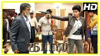 Download Kabali Movie Scenes   Dhansika is Rajini's daughter   Dhansika kills attackers   Rajini gets shot Video