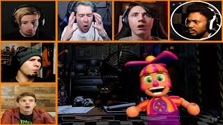 Download Let's Players Reaction To DeeDee Doing A Sneaky Thing | Fnaf Ultimate Custom Night Video