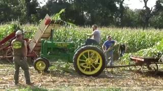 Download Very Old Farm Machinery In Operation Video