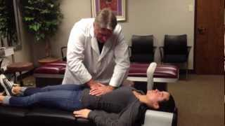 Download Your Houston Chiropractor Dr. Gregory Johnson Treats Hiatal Hernia on Brooke Adams Miss Tessmacher Video