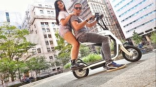Download MY NEW ELECTRIC SCOOTER! Video