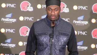 Download Cleveland Browns QB Robert Griffin III - We were able to get some things clicking Video