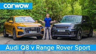 Download Audi Q8 vs Range Rover Sport 2020 - see which SUV is the best   carwow Video