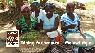 Download Dining For Women Malawi Style - RIPPLE Africa Video