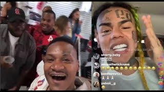 Download YG Goons Take Credit for Denying 6ix9ine Entrance to Complexcon. 6ix9ine calls them 'Dirty Bloods'. Video