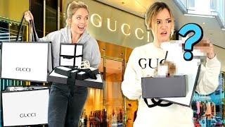 Download Sister Shops for Me at GUCCI! *it gets awkward* Video
