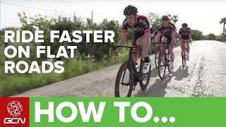 Download How To Ride Flat Roads Faster Video