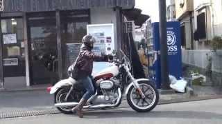 Download 女性ライダー 2015 XL883L Harley-Davidson ハーレーダビッドソン FLHXストリートグライド FLSTF ファットボーイ FLSTC ヘリテイジ ソフテイル Video