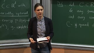 Download Maryna Viazovska - 1/6 Automorphic Forms and Optimization in Euclidean Space Video