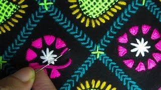 Download Hand Embroidery; Chadar Embroidery/Phulkari Dopatta/Nakshi Kantha Video