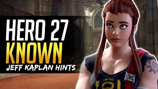 Download Overwatch HERO 27 KNOWN ALREADY says Jeff Kaplan - Top Candidates Breakdown Video