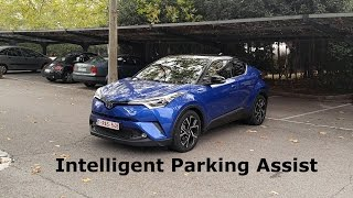 Download Toyota C-HR - Simple Intelligent Parking Assist system :: [1001cars] Video