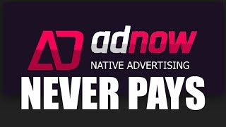 Download Adnow Scam Network : How AdNow Cheated Me For Just 6.3 Dollars : Never Join Adnow Publisher Program Video