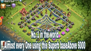 Th12 Letest Unbeatable Trophy And War Base For Legends: Clash Of