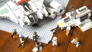 Download Lego Star Wars Rebels 75053 Ghost paired with Phantom Speed Build Video