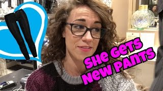 Download COLLEEN FINALLY GETS NEW PANTS! Video