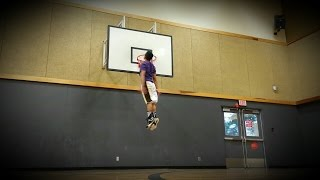 Download 5'5 - Dunks on 9ft & 10ft, 62inch box jump(running) Video
