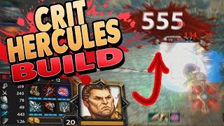 Download Smite: Hercules Crit Build - The Ra THAT DESTROYED THEIR WHOLE TEAM! Video