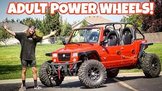 Download I BOUGHT AN ADULT SIZE POWER WHEELS! Video
