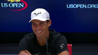 Download 2017 US Open: Rafael Nadal Sends Press Room Into Laughter Video