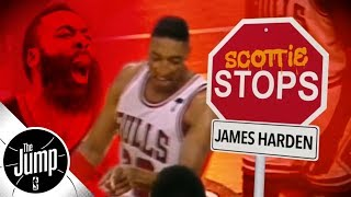 Download Scottie Pippen explains how to stop James Harden | The Jump | ESPN Video