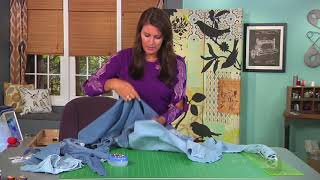 Download Make a shirt dress from two denim shirts on It's Sew Easy with Angela Wolf (1401-1) Video
