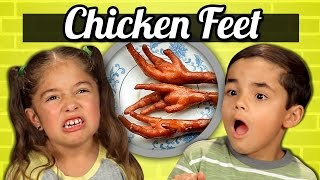 Download KIDS vs. FOOD - CHICKEN FEET Video