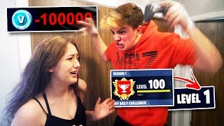 Download Girlfriend Deleted my $1000 FORNITE Account... [GONE TOO FAR] Video