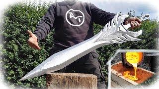 Download Aatroxs Sword The Darkin Blade - League of Legends (GIANT Aluminum Casting) Video