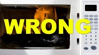 Download 13 Random Things You Shouldn't Microwave Video
