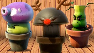 Download Plants vs. Zombies: Garden Warfare - Every Spawnable Plant! Video