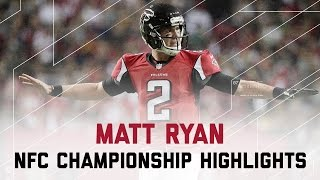 Download Matt Ryan Delivers for 392 Yards & 5 TDs! | Packers vs. Falcons | NFC Championship Player Highlights Video