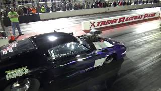 Download Gaylen sparks it up in Bounty Hunter blower Mustang at Dallas vs Houston on 11 24 18 Video