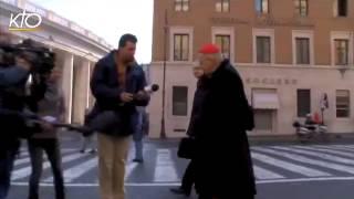 Download Le Cardinal Vingt-Trois, en route pour le Conclave Video