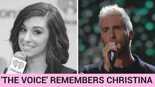 Download Adam Levine Performs Moving Tribute to Christina Grimmie on 'The Voice' Video