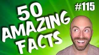 Download 50 AMAZING Facts to Blow Your Mind! #115 Video