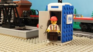 Download LEGO Portable Toilet - Stop Motion Video Video
