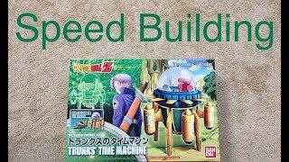 Download Model Kit Speed Building #7 Bandai DRAGON BALL Z Figure Rise Mechanics TRUNKS TIME MACHINE Video